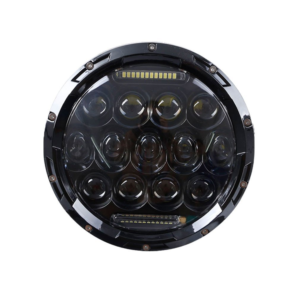 7 Inch 75W Daymaker Projector LED Headlight Assembly for Harley-Davidson Motorcycle Plug & Play & LED Canbus & H4/H13 Adapter s6 5 ips hd mtk6589 smartphone 1gb 16gb 13 0mp android 4 2 3g gps