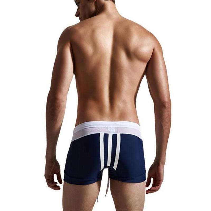 Topdudes.com - Men's New Sexy Low Waist Beach Boxer Shorts