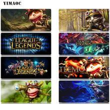 YIMAOC League Of Legends Teemo Mouse Pad 30x80 cm Computer Mousepad Anti-slip Natural Rubber Gaming Mat