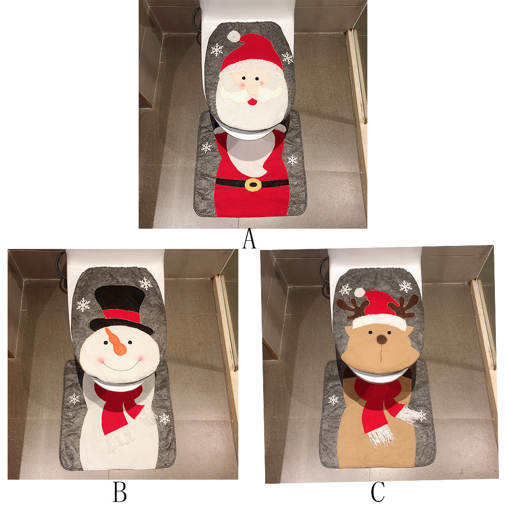 Incredible Us 6 97 50 Off Toilet Seat Cover 2Pcs Set Fancy Snowman Toilet Lid And Carpet Bathroom Set Christmas Decoration Fashion Brushed Cloth Nov1 In Toilet Pabps2019 Chair Design Images Pabps2019Com