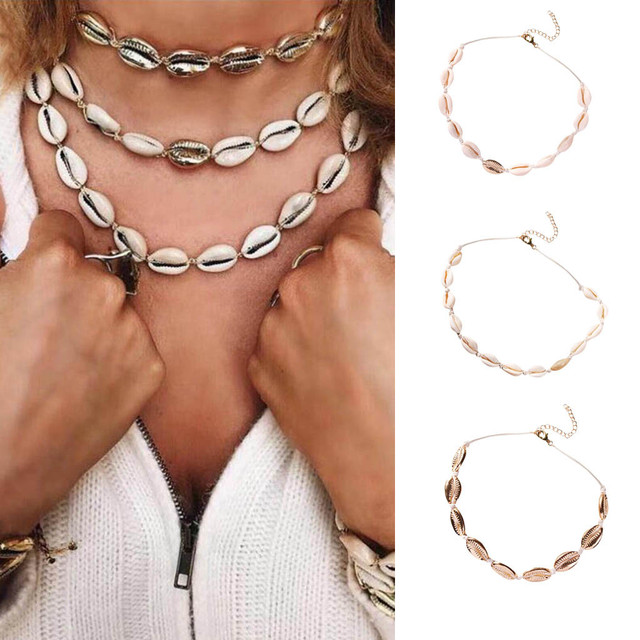 brixini.com - The Classic Seashell Necklace