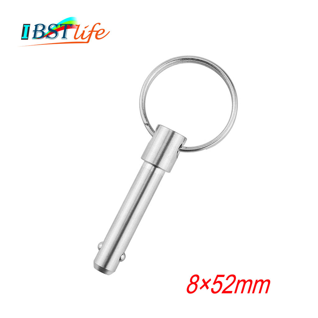 8mm Stainless Steel 316 Marine Grade Double Ball Quick Release Pin For Boat Bimini Top Deck Hinge Marine Boat