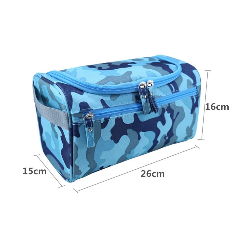 Uusi vedenpitävä miesten roikkuu meikki laukku nylon matka - Kodin varastointi ja organisaatio - Valokuva 2
