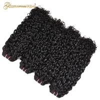 Малайзии Фунми волосы Piexy curl дважды обращается странный вьющиеся волосы Реми один пучок Pixel завиток натуральный черный Цвет Может Быть Крас