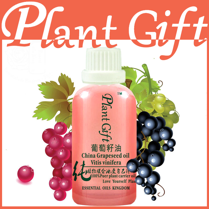 Free Shopping 100% Pure Plant Essential Oil Base Oil Grapeseed Oil Massage 100ml For Dry Skin Natural Carrier Oil Grape seed