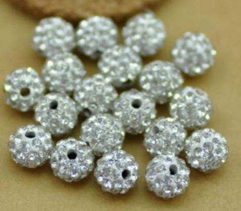 B71//3 Ceramic Pink Pebble Texture Irregular Round Beads 14mm Pack of 3