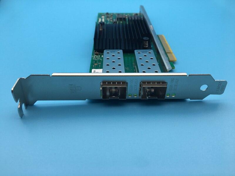 10 Gigabit Network Card Dual Optical Interface X710-DA2 X710DA2 Network Converged Server Adapter NIC