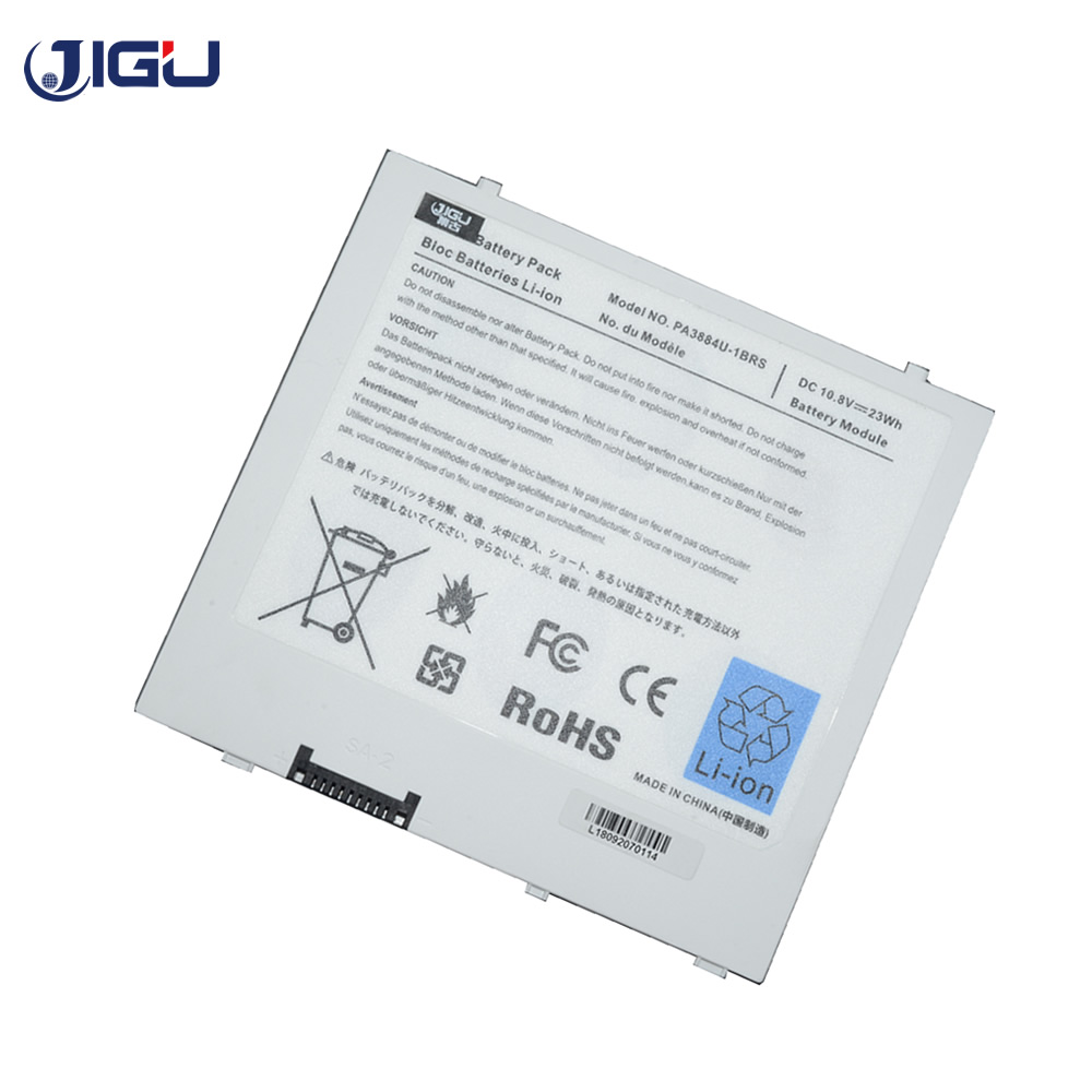 JIGU 3CELLS Laptop Battery PA3884U-1BRS PABAS243 PA3884U For Toshiba  AT100 For Thrive AT105-T016 WT310