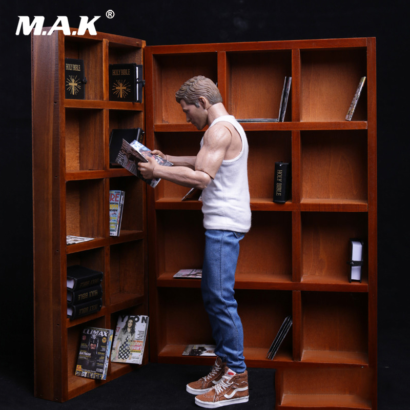 1/6 Scale Scene Accessories Shoe Cabinet Bookcase Bookshelf Can Be Combin For 12 Inches Doll Action Figure Accessories