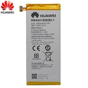 Image 3 - הואה ווי מקורי החלפת טלפון סוללה HB444199EBC + עבור Huawei Honor 4C C8818 CHM CL00 CHM TL00H/G לשחק מיני 2550 mAh