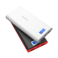 Original Power Bank 20000mAh LCD External Battery Portable Mobile Fast Charger Dual USB Powerbank For IPhone