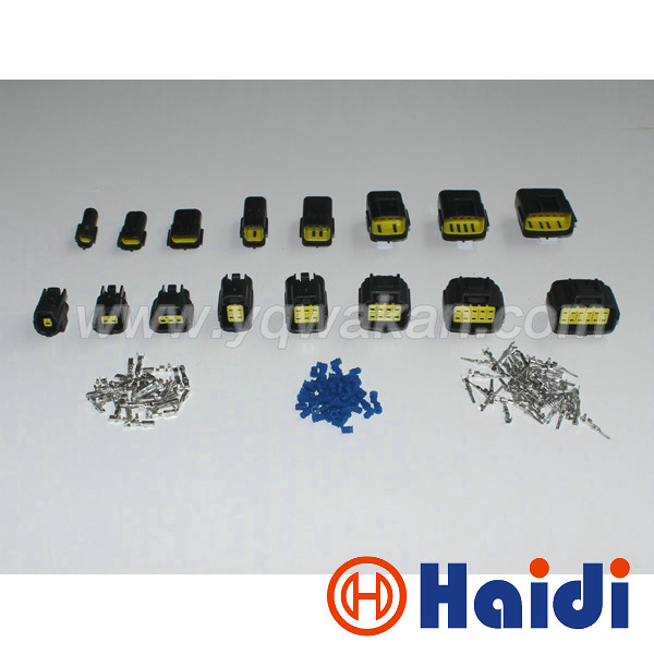 Free shipping 1set complete Brand 1/2/3/4/6/8/10/12 Pin male&female Sealed Electrical Set Car Truck denso connectors free shipping 5pairs male and female 2pin 20awg l6 2 2p tamiya 30cm wire connectors