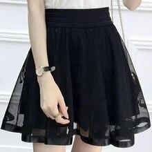 Spring Summer Mini Skirt Ball Gown Women short skirts SVBXCV(China) 1dd766a61abb