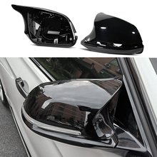 Replacement Carbon Fiber Mirror Assembly Covers Caps Shell For BMW F20 F21 F22 F23 F30 F31 F32 F33 F34 F35 E84 1 2 3 4 series цена