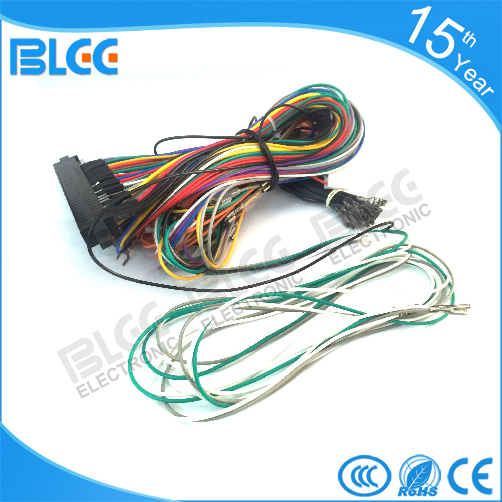 Buy 3pcs Of Full Machine 28p Arcade Jamma Harness Pinout Also Vga Cable Diagram Besides Keyboard Connector Below Is The Basic For Pcb You Can Use This As Reference When Are Connecting Wire