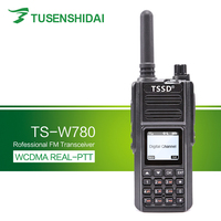 Hot Sell GSM/3G Network GPS Positioning WCDMA SIM Card Handy Walkie Talkie TS W780