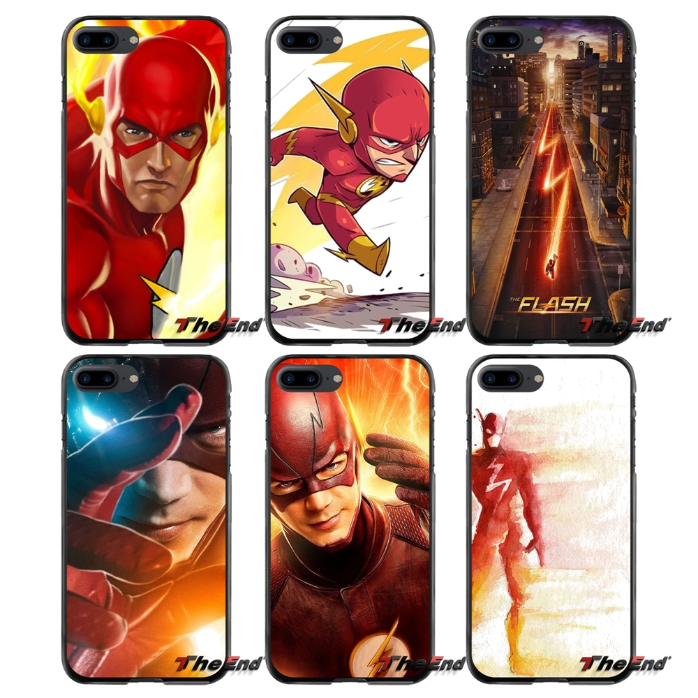 Accessories Phone Shell Covers The Flash For Apple iPhone 4 4S 5 5S 5C SE 6 6S 7 8 Plus X iPod Touch 4 5 6