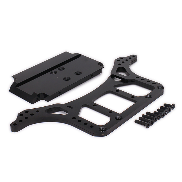 1Set DIY Upgarde Chassis Frame For 1/10 Rc Car Scale Rock Crawler ...