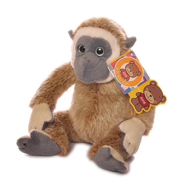 Clearance Sale 18cm Gibbon Stuffed Animal Toys Lovely Monkey Plush