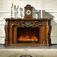 living room decorating warming fireplace W148cm wood fireplace mantel electric fireplace insert LED optical artificial flame