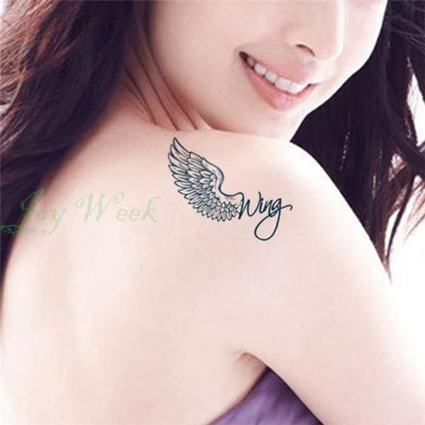 Sexy wings tattoo