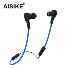 AISIKE BT-H06 Sport Earphone Bluetooth V3.0 Fashion One for Two Function with Microphone Stereo Sound fone de ouvido smart ear