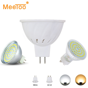 LED Spotlight Bulb Bombilla LED GU10 MR16 AC 220V 4W 6W 8W SMD2835 Spot Light Bulb Lampada Ampoule Lamp Lampara LED Lighting
