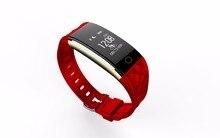 Водонепроницаемый Bluetooth Smart Band S2 смарт-браслет сердечного ритма шагомер сна Фитнес трекер для iOS телефонов Android