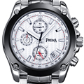 Prema 2016 multi-función de cronómetro hombres superiores de la marca de moda reloj de cuarzo hombre deporte impermeable reloj de acero reloj montre homme