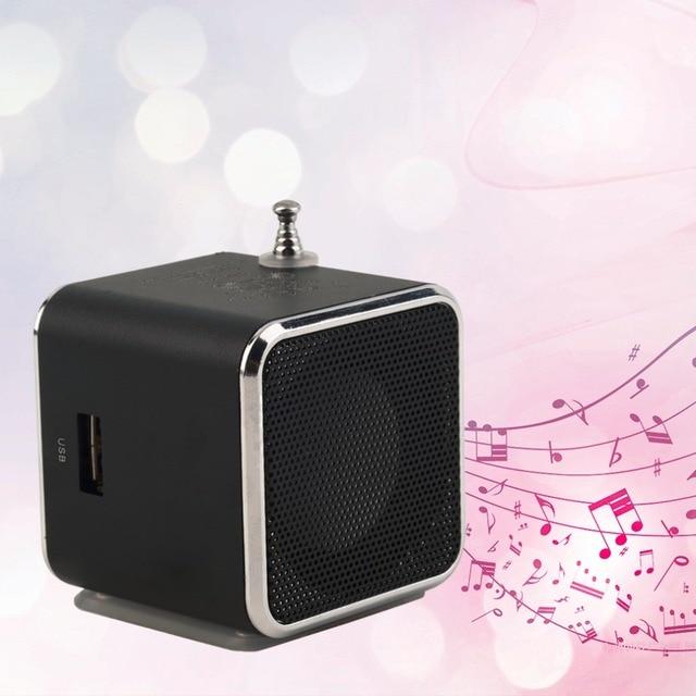 New Portable Micro TF USB Mini Speaker Music Player Portable FM Radio Stereo mp3 phone Laptop MP3 MP4 Player Mini Speaker