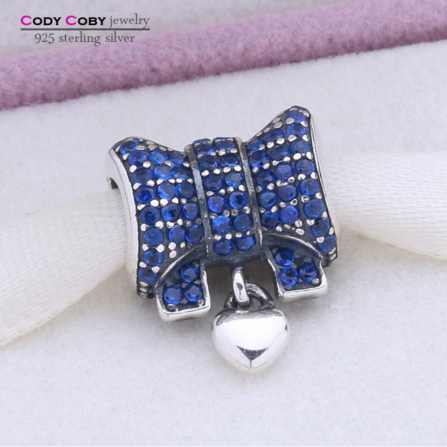 Floating Heart   Knot Beads Fit Pandora Bracelet Authentic 925 Sterling  Silver Original European Charm Pave ac11fd5b461d