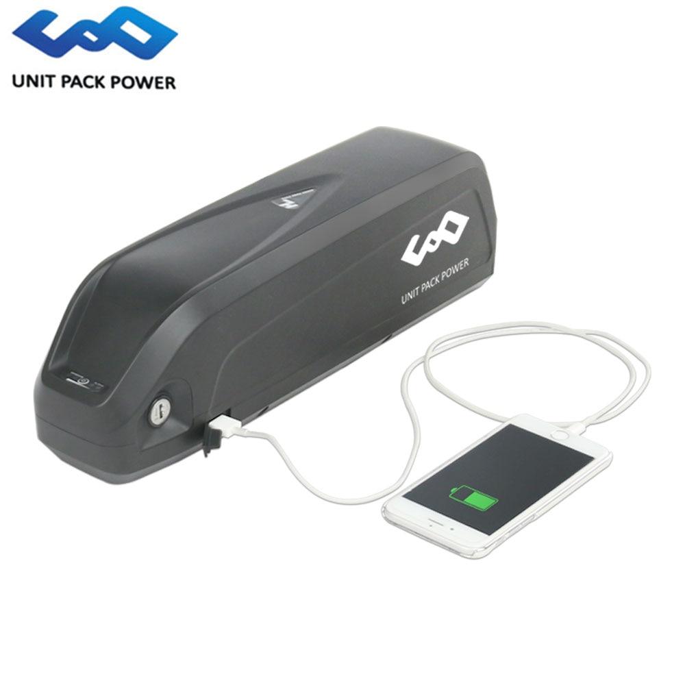 Batterie de vélo électrique Hailong 48 V 13Ah 16ah batterie de requin au Lithium 48 V 750 W 500 W 8Fun tsdz2 Kits de moteur batterie e-bike