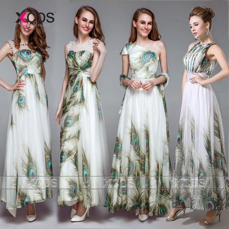 2016-4-Designs-Peacock-Pattern-Dress-Long-Chiffon-Prom-Dresses-Beads-Plus-Size-Vestidos-De-Formatura