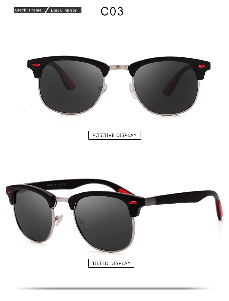 ASUOP 2019 New Polarized Sunglasses for Women UV400 Fashion Round Men's Glasses Classic Retro Brand Design Driving Sunglasses (14)