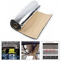 Universal Car Auto Firewall Sound Deadener Insulation Mat Noise Heat Shield Insulation Automotive Deadening Foam Panel 50*200cm