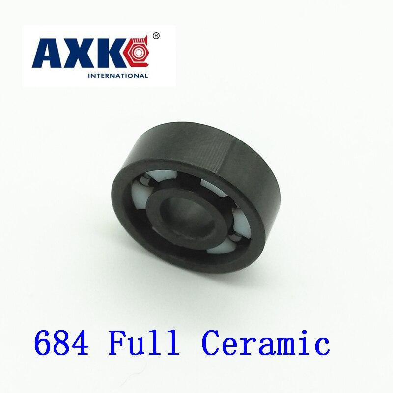 2019 Rodamientos Axk 684 Full Ceramic Bearing ( 1 Pc ) 4*9*2.5 Mm Si3n4 Material 684ce All Silicon Nitride 618/4 Ball Bearings2019 Rodamientos Axk 684 Full Ceramic Bearing ( 1 Pc ) 4*9*2.5 Mm Si3n4 Material 684ce All Silicon Nitride 618/4 Ball Bearings