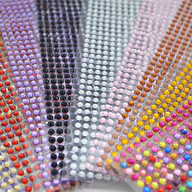 900 Self Adhesive Rhinestone Crystal Diamond Gemstones Decoration Gems Car Craft