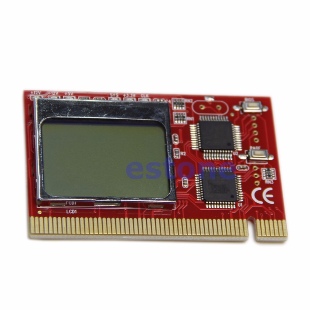 Hot Sell LCD PCI PC Computer Analyzer Tester Diagnostic Card