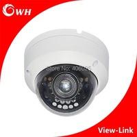 Free Shipping CWH 4210H 700TVL 800TVL 1000TVL 1200TVL 960H Waterproof Dome Indoor CCTV Camera With 20M