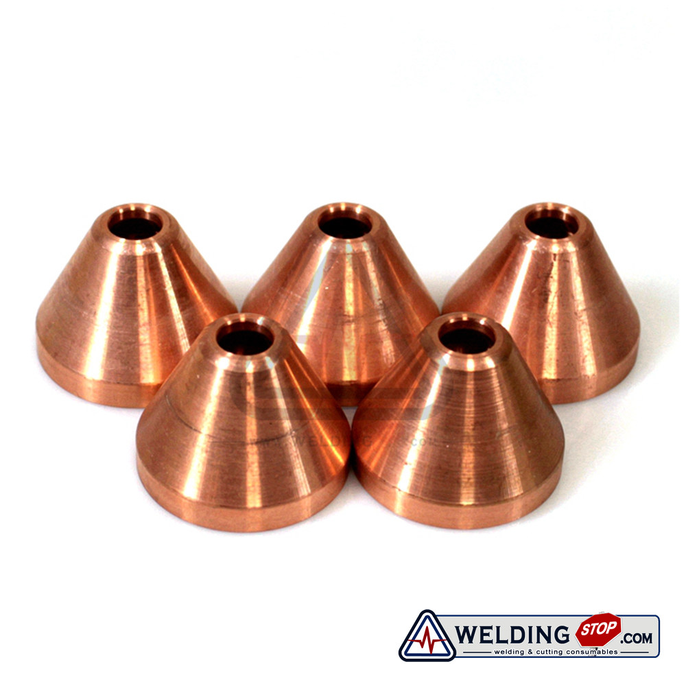 220675 WS Plasma Gouging Shield Cup 5pcs 45A Cutting Torch Consumables Aftermarket Replacement
