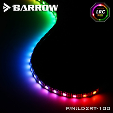 Barrow Aurora LED 5V 3PIN Header Strip Light Sticks use for Computer Case  Waterproof Sticky Length 100cm Support D-RGB SYNC