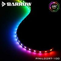 Carrinho de mão aurora led 5 v 3pin encabeçamento tira luz varas uso para computador caso à prova dwaterproof água comprimento pegajoso 100cm suporte D-RGB sincronização