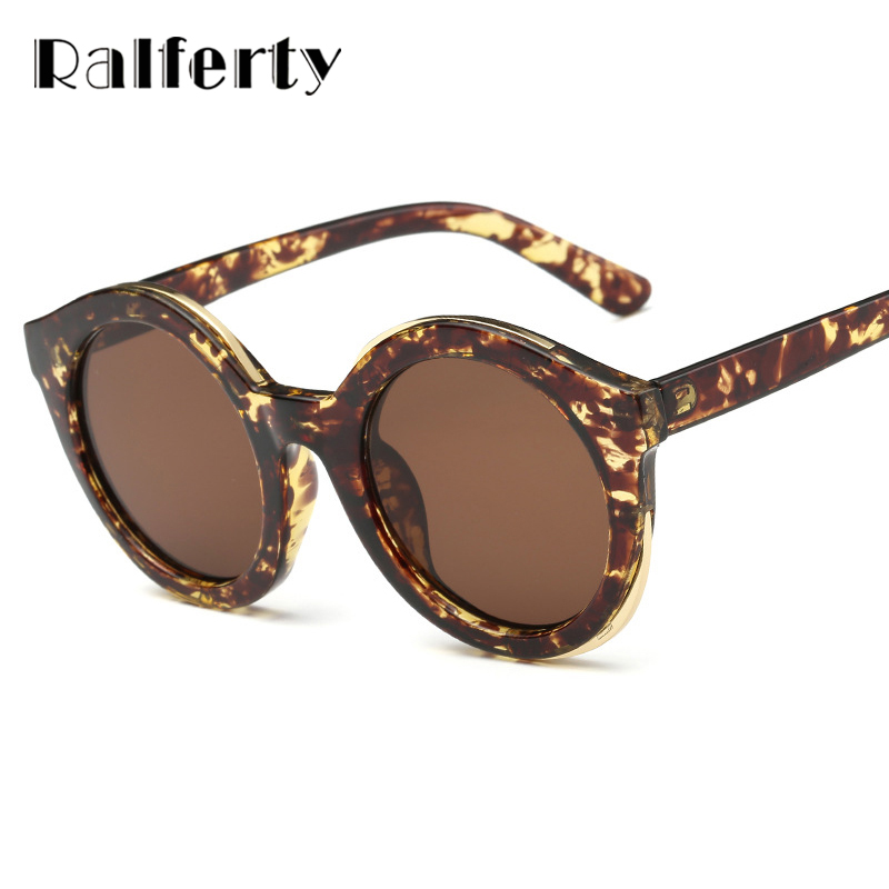 Ralferty Vintage Ladies Round Sunglasses