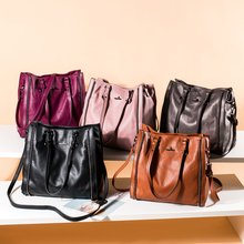 CGMANA Brand Women Handbag 2018 New Designer Shoulder Bags Fashion High Quality Soft Leather Female Messenger