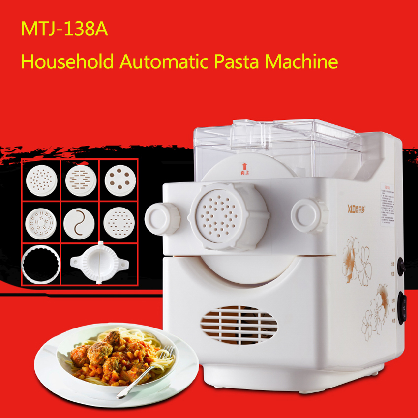 1PC Healthy Life Fully Automatic DIY Pasta Noodle Machine Household Noodle Maker Electric Noodle Maker Machine diy small household noodle machine noodle maker fully automatic electric pasta maker