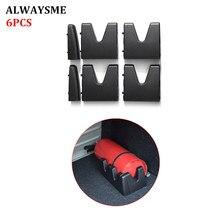 ALWAYSME 6 шт./набор, универсальный автомобильный багажник, монтажный кронштейн, авто неподвижная стойка, держатель для автомобиля, перекладины и клетки