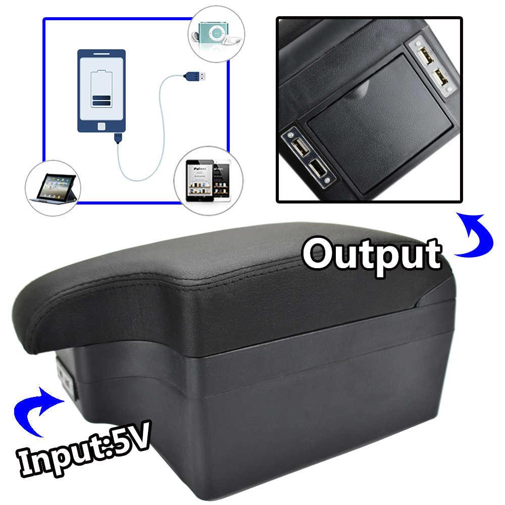 Автомобильный стильный черный USB центральный консольный ящик для Suzuki Jimny 2000-2017 Новый подлокотник 2005 2006 2007 2015