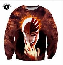 Bleach women/men  sweatshirts printedl pullover tops