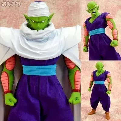 Classic 22cm Dragon Ball Z Piccolo Action Figure PVC Collection figures toys Anime Fans christmas gift brinquedos Free shipping hollow out design automatic mechanical watch leather band watch for men oulm 3402