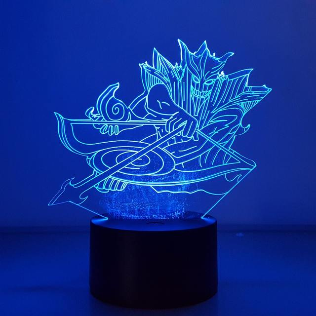 Susanoo 3D LED USB Nightlight (7 Color Changing)